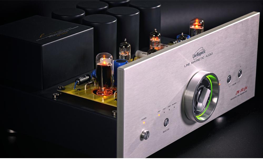 Line magnetic audio